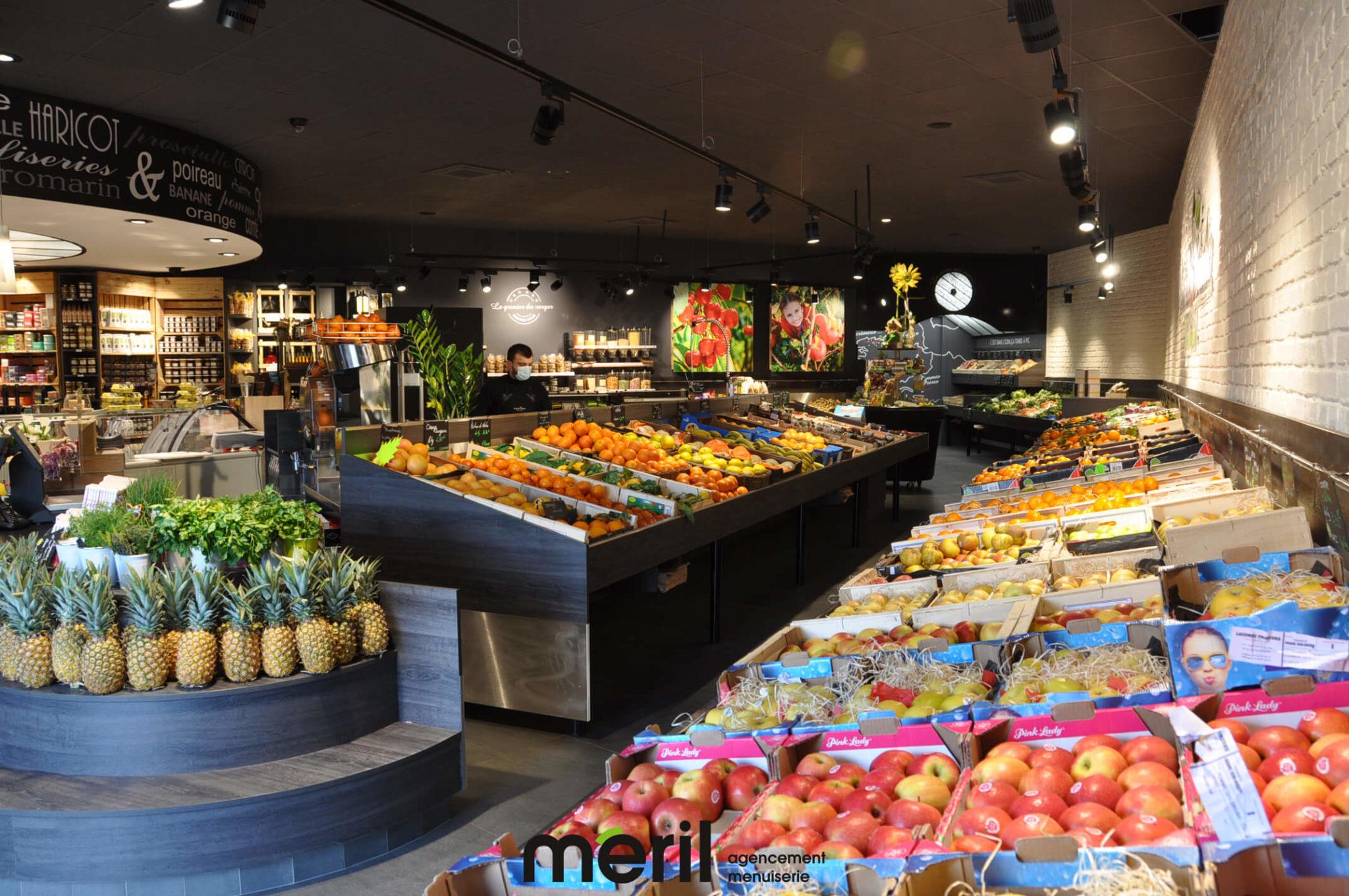 Agencement magasin Cerise & Basilic