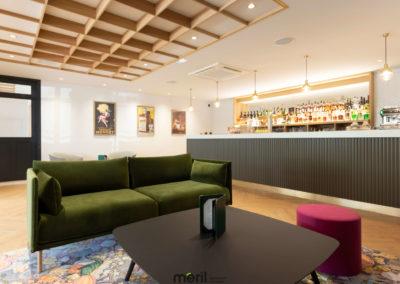 Aménagement hôtel-restaurant
